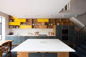 Kitchen of the Week: Plywood Cabinets Upstairs and Down in a London Remodel
