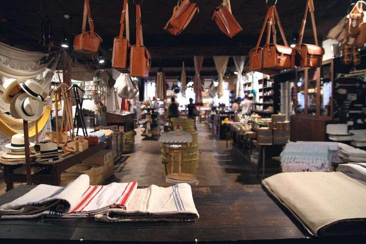 Maison-Empereur-Marseille-linens-leather-bags-Remodelista