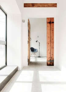 AR Design converted Manor House stable hall: Remodelista