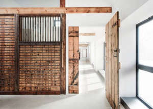 AR Design converted Manor House stable, door: Remodelista