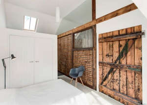 AR Designs converted Manor House stable, bedroom 2: Remodelista