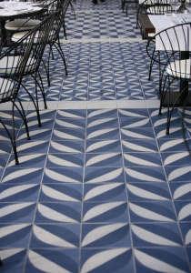 Tiled Floors at Maritim Barcelona | Remodelista