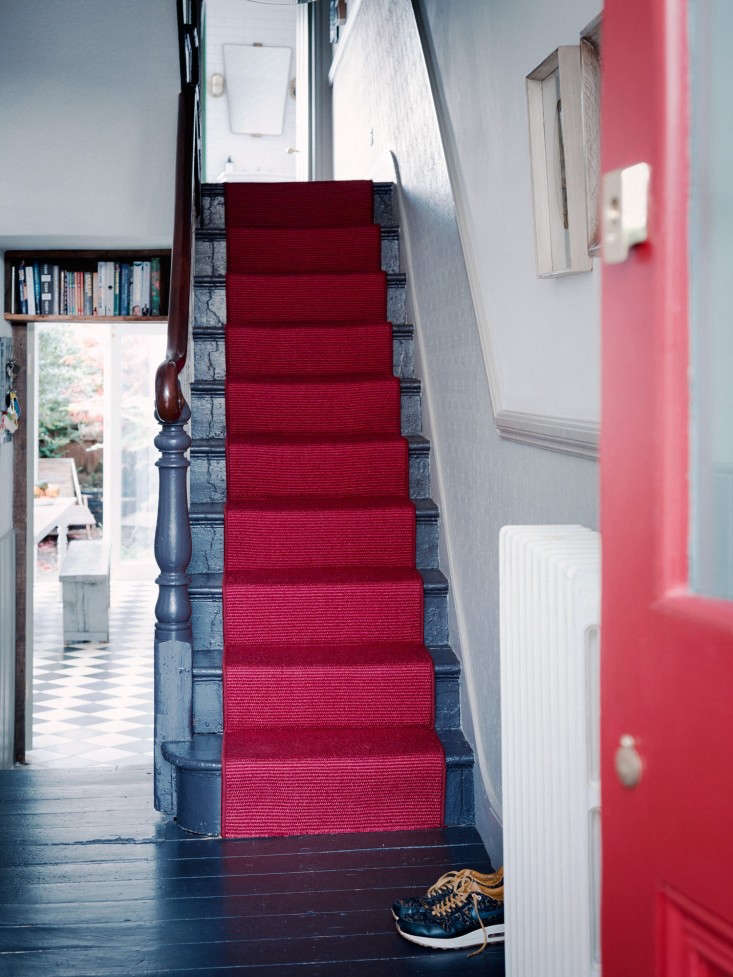 A dramatic option, as seen in A Sympathetic Renovation in Stoke Newington, London.
