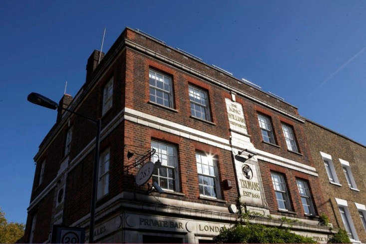 Mat-Collishaw-Living-Room-old-pub-exterior-Camberwell-London-Remodelista
