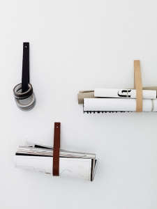 Mathilda Clahr Leather Straps I Remodelista