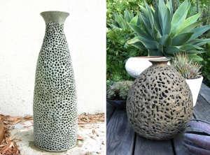 Matin bronze lanterns by Christina Odegard | Remodelista