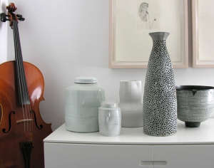 Matin bronze and ceramic vessels | Remodelista