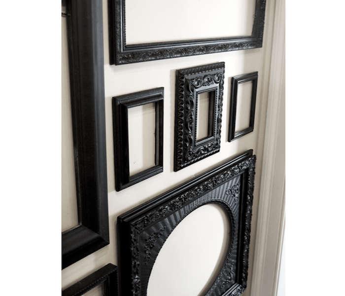 Matte-Black-Painted-Frames-Remodelista