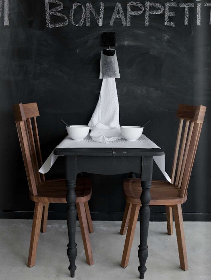 Matte-Black-Painted-Table-Restaurant-Remodelista