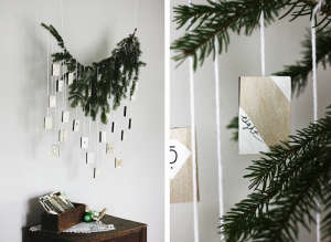 DIY Advent Calendar from Merry Thought | Remodelista