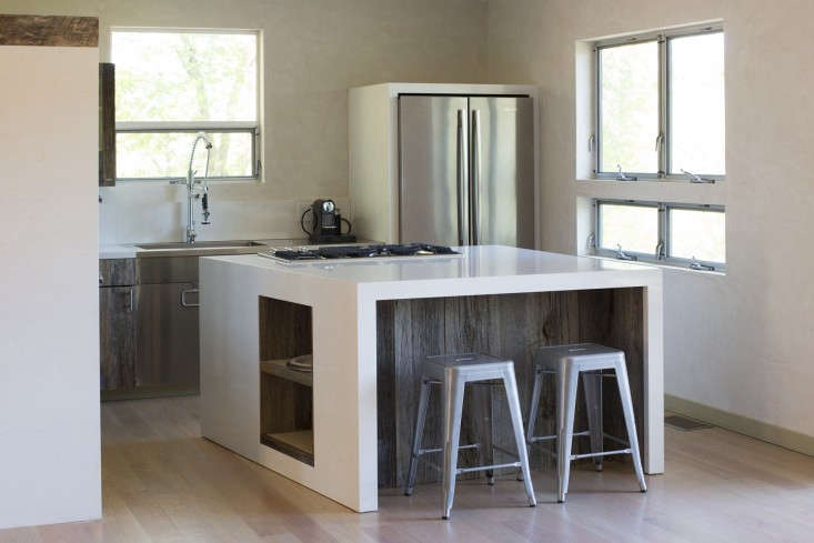 Michael-Roche-Napa-Valley-kitchen-reclaimed-wood-Remodelista