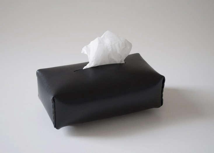 Michael-Verheyden-Niez-black-leather-tissue-box-Est-Magazine