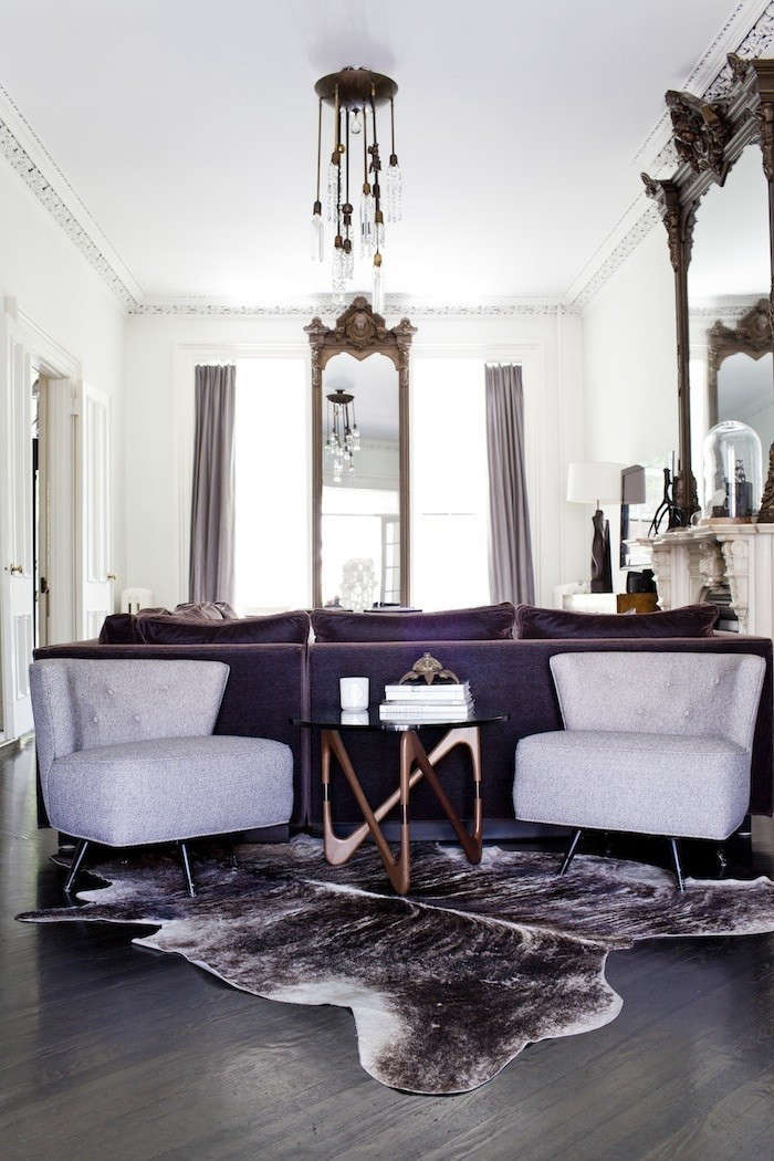 living room brooklyn at home with a fashionista turned lighting 10081
