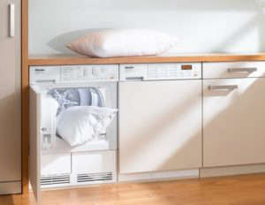 Miele Flat Panel Compact Washer and Dryer for Small Space | Remodelista