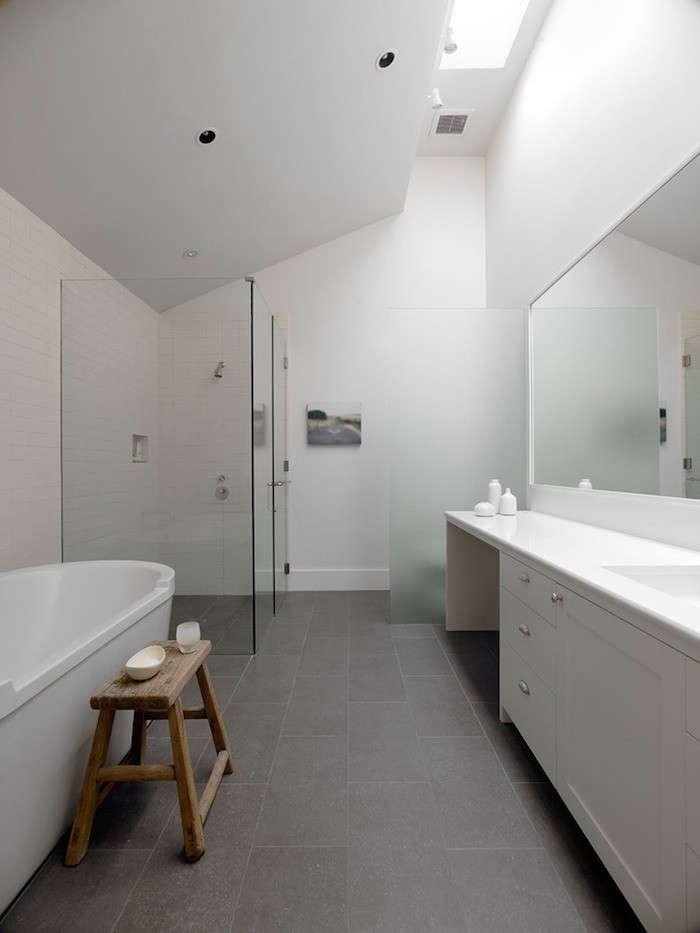 Remodeling 101: Freestanding vs. Built-In Bathtubs, Pros ... on Farmhouse Bathroom Floor Tile  id=80500