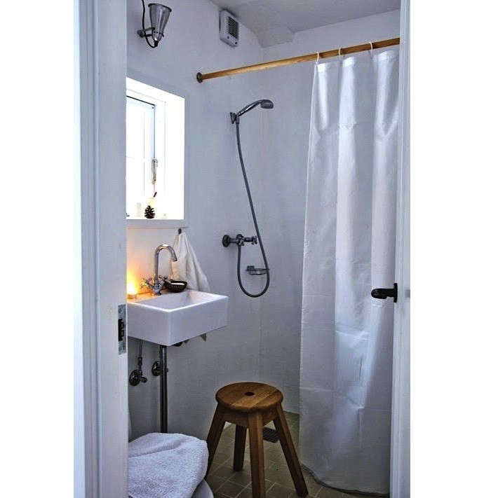 Bathroom Lighting Remodelista: Steal This Look: A Budget Bath, Nordic Style: Remodelista