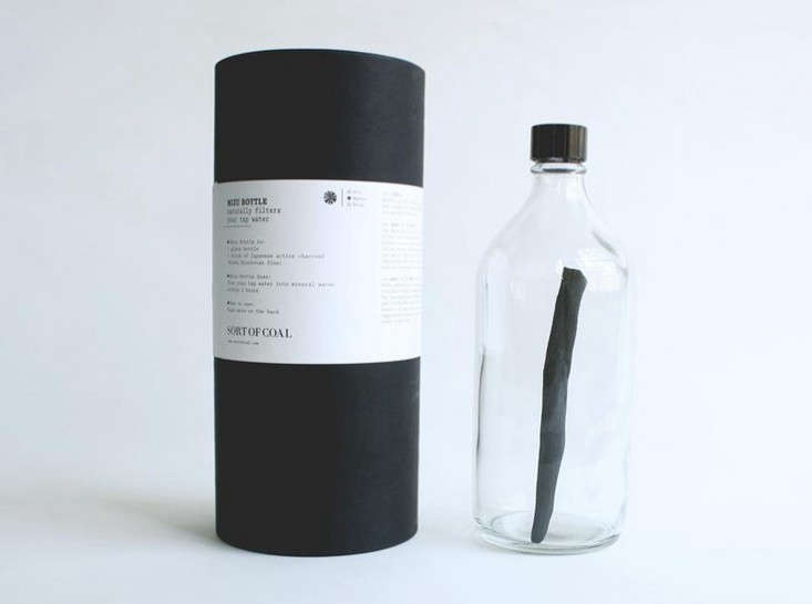 Mizu-bottle-with-binchotan-stick-Remodelista