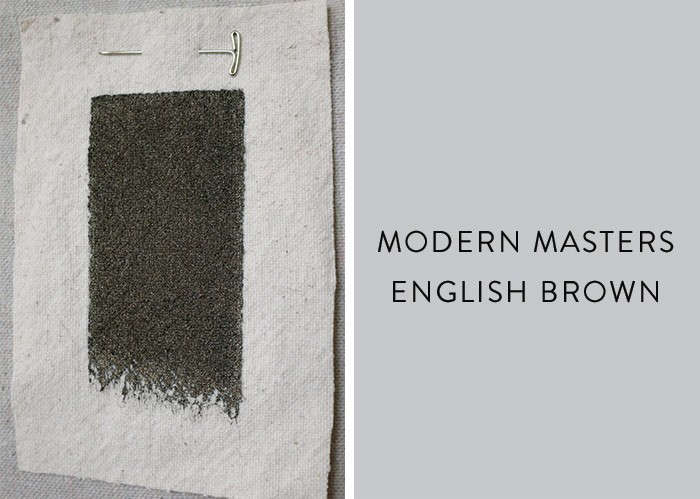 Modern-masters-metallic-paint-in-English-Brown-Remodelista