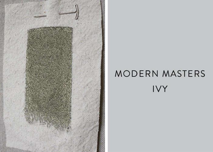 Modern-masters-metallic-paint-in-Ivy-Remodelista