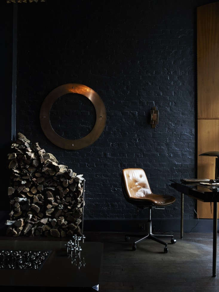 Monochrome-Home-Hilary-Robertson-Natcheva-Living-Room-Remodelista
