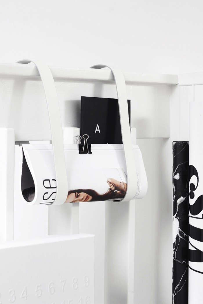MyDubio-DIY-Leather-Straps-magazine-holder-Remodelista