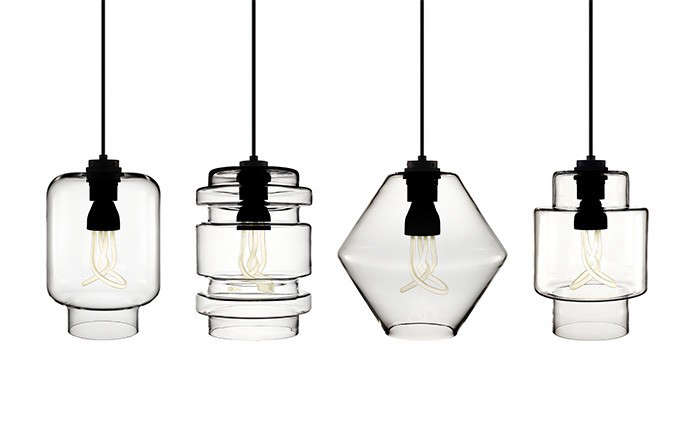 Niche-Modern-Crystalline-series-with-Plumen-energy-saving-light-bulbs-clear-lampshades-Remodelista