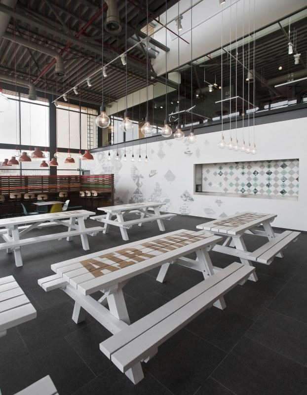 Nike-Canteen-Uxus-Stenciled-Table-Top
