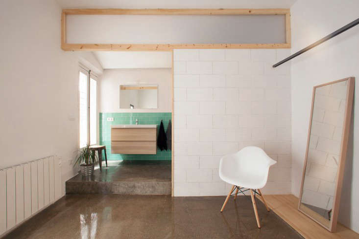 Design Sleuth: Ikea Vanity Installed by Nook Architects