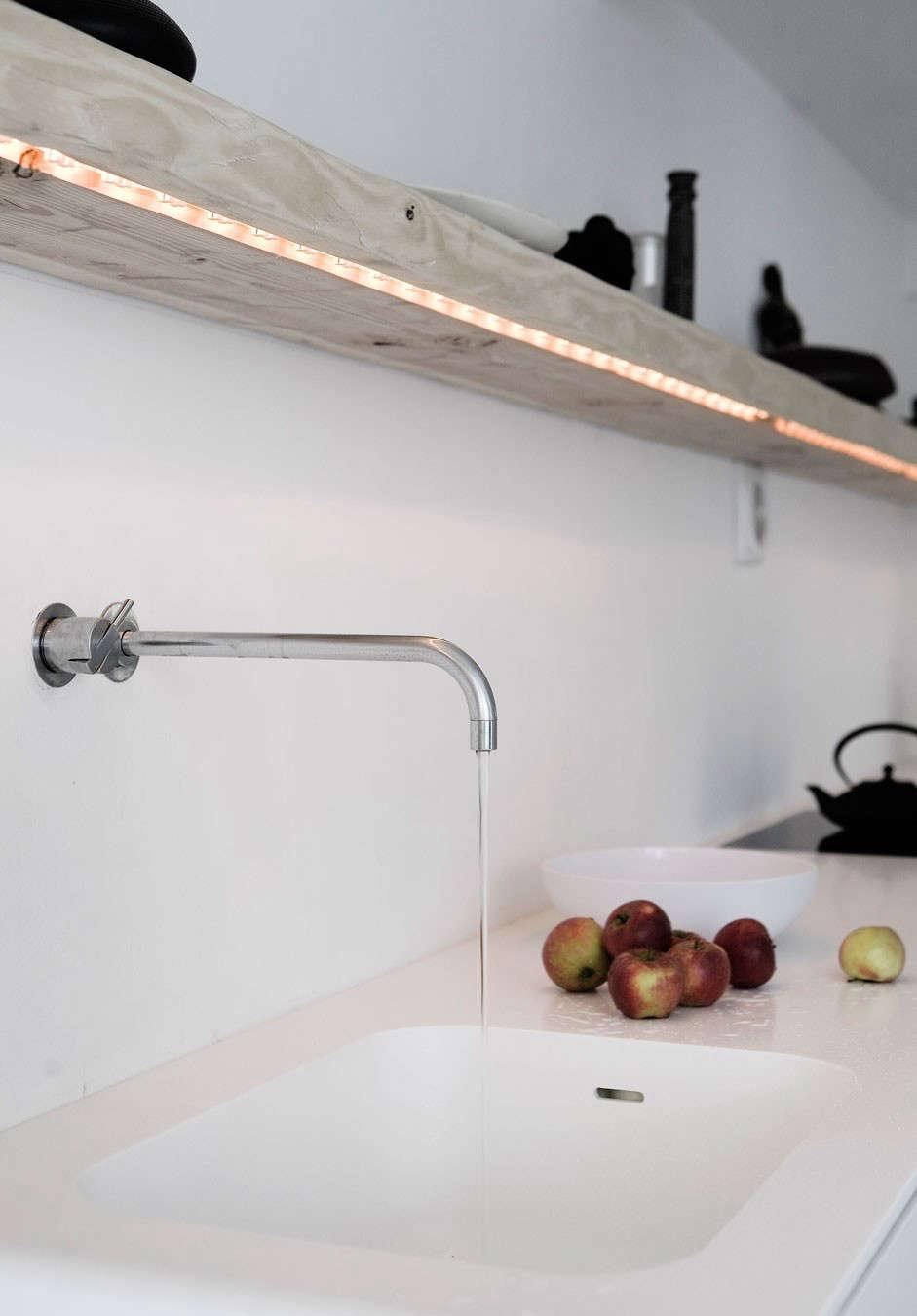 clever kitchen lighting from copenhagen remodelista. Black Bedroom Furniture Sets. Home Design Ideas