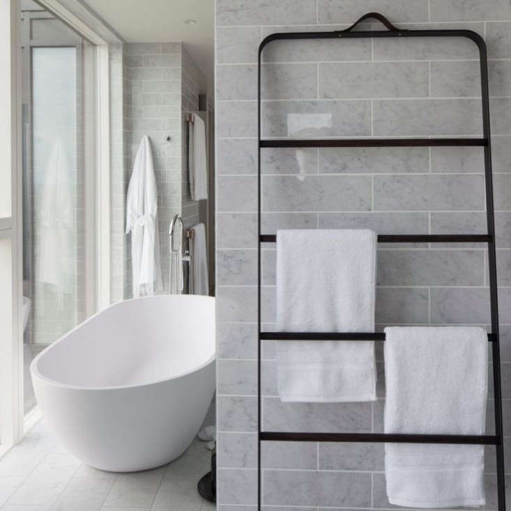 New Bath Hardware From Norm Architects The Towel Ladder