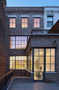 O'neill rose West Side Townhouse, rear elevation | Remodelista