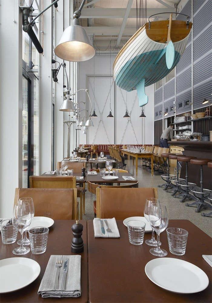 Oaxen krog slip a marine inspired restaurant in for Restaurant miroir