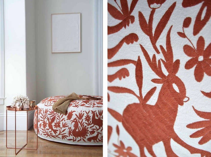 Olli-hand-embroidered-lounger-terra-cotta-Remodelista