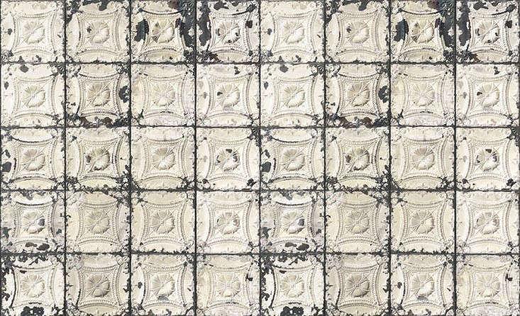 Original-brooklyn-tin-tiles-wallpaper-merci-Remodelista