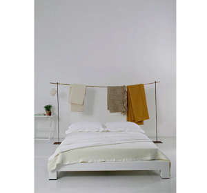 Blanket Rack Photographed by Ruy Teixeira | Remodelista