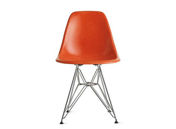 Eames Molded Fiberglass Wire Base Side, Eames Side Chair Wire Base