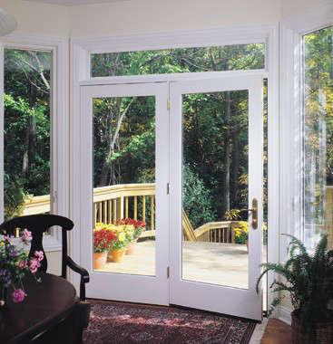 Pella 450 series hinged patio door remodelista for Hinged french patio doors