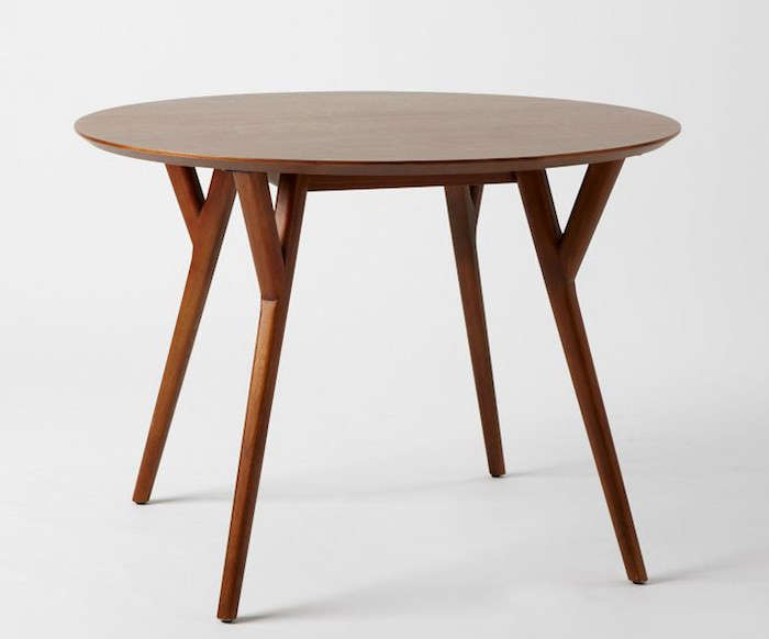 Parker-Mid-Century-Round-Dining-Table-Remodelista