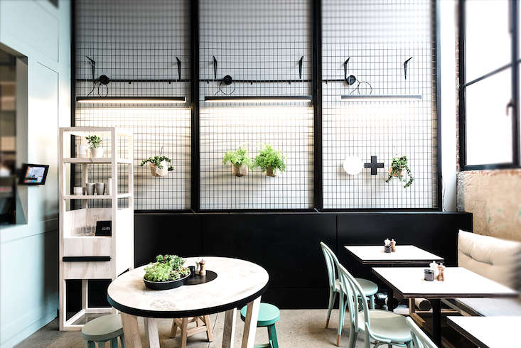 Patch Cafe A Playful Custom Built Restaurant In Melbourne