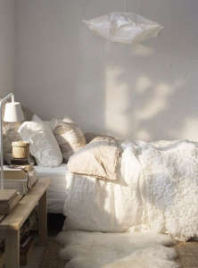 Paula Eklund Bedroom from Ikea Family Live Magazine | Remodelista