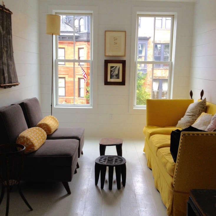 Living above the shop ceramic artist paula greif in for Living room 101 atlantic ave boston
