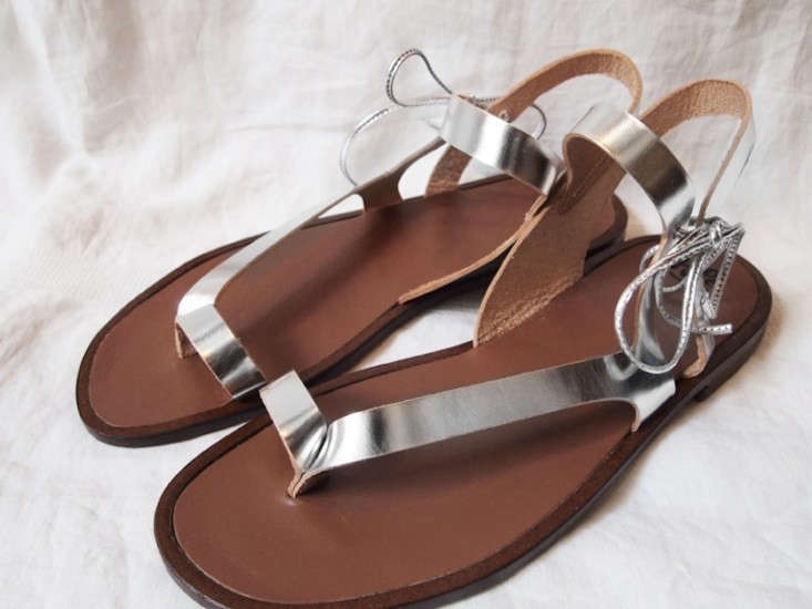 PePe-Sandals-in-Silver-Remodelista