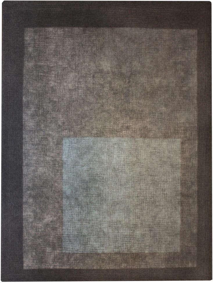 Peace-Industries-Littlebox-rug-in-charcoal-gray-aqua-Remodelista
