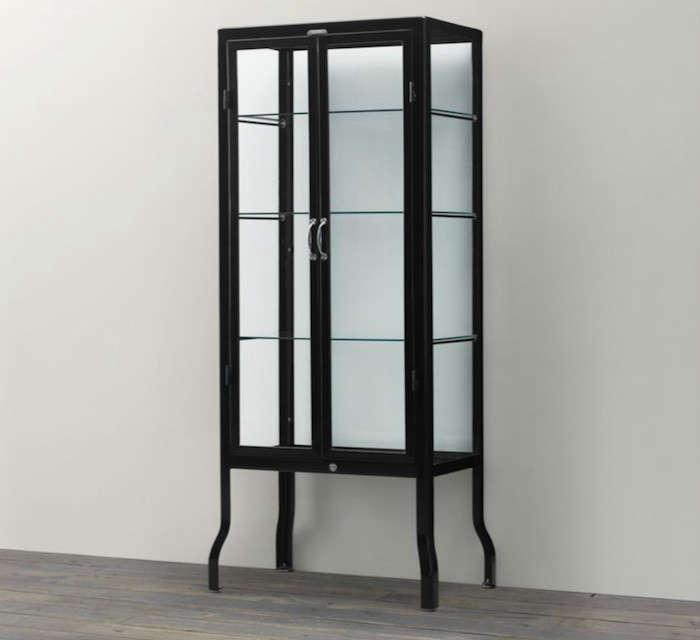 Pharmacy-Bath-Tall-Cabinet-Black-Remodelista