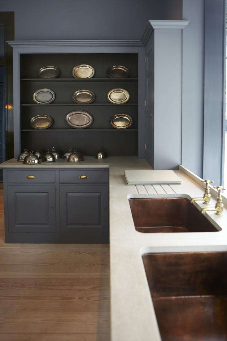 One alternative: Not a double-bowl sink per se, but two sinks, separated. SeeKitchen Confidential: 10 Ways to Achieve the Plain English Look.