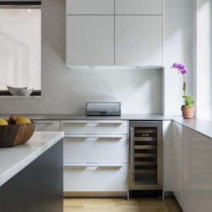 Platt Dana Architects, White Bulthaupt Kitchen in Architect Is In | Remodelista