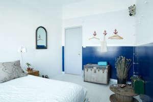 Playland Motel, Rockaway, New York, Jessica bedroom   Remodelista
