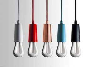 Plumen 002, Designer Low Energy Bulb, Color Capped Bulbs | Remodelista