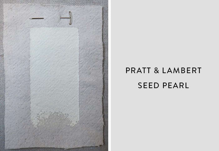 Pratt and Lambert_Seed Pearl, Best Paint Color for Urban Small Dark Kitchens, Remodelista