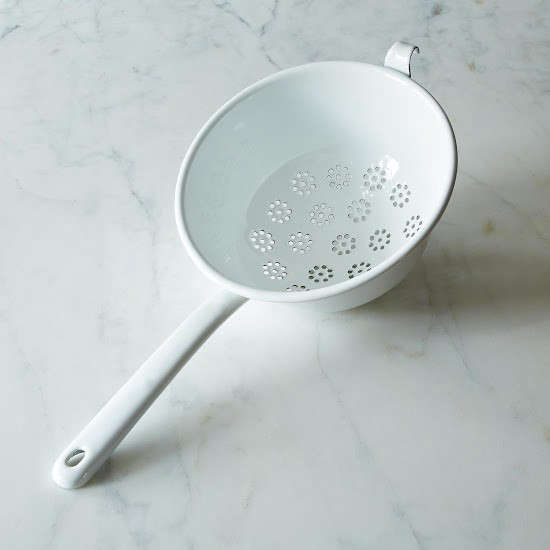 Provisions-Riess-enamel-colander-Remodelista